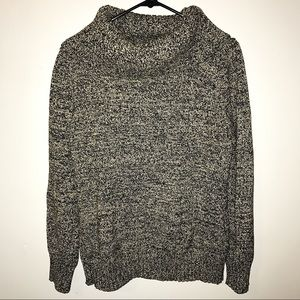LRL Knit Cowlneck Sweater